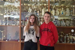 Kornelia Balcerzak i Kacper Marciniak. Ich pasją jest sport