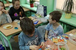 Pyszna lekcja angielskiego – FOOD ART PROJECT
