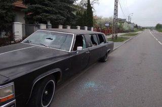 AKTUALIZACJA: Cadillac na Padlewskiego. Jeszcze w piątek był cały