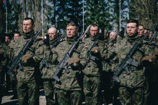 Przysięga nowych Terytorialsów. Wśród nich 9 żołnierzy z naszego powiatu