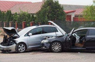 Zderzenie dwóch aut w Rzęgnowie