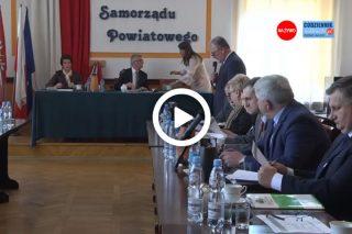 Trwa transmisja z VII sesji Rady Powiatu Mławskiego – zapraszamy