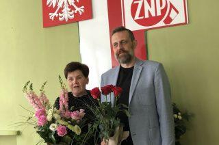Przemysław Bieniak nowym szefem oddziału ZNP w Mławie