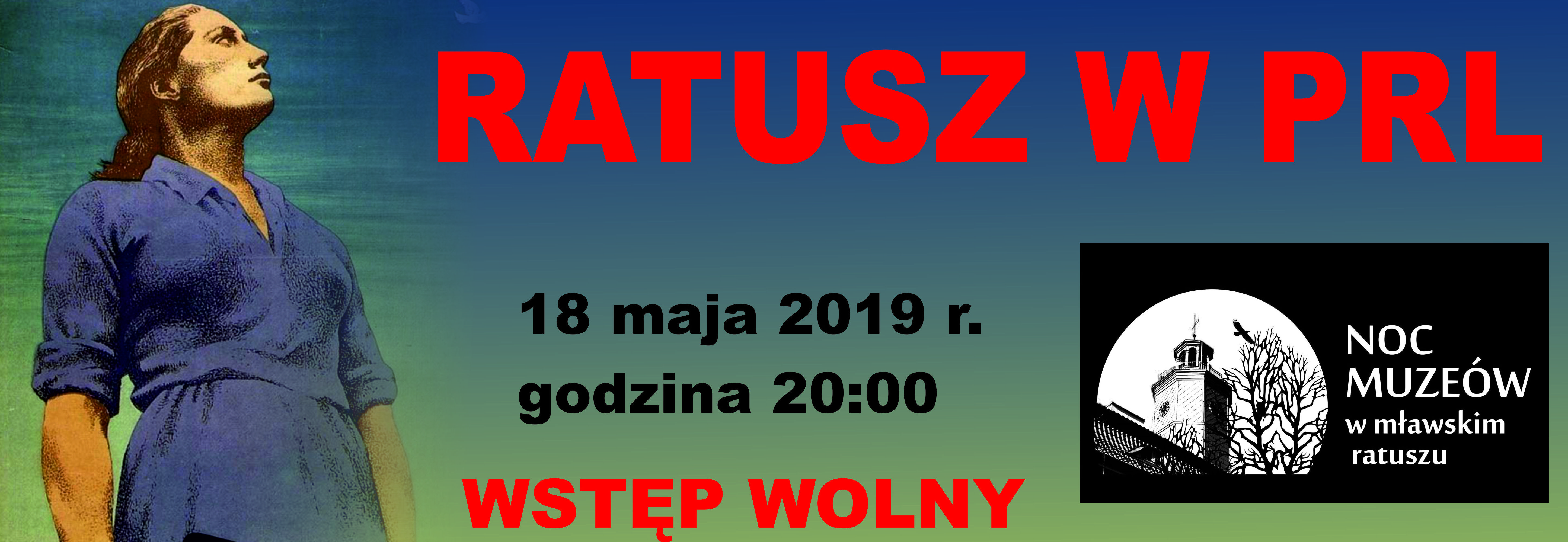 Noc Muzeów 2019 program atrakcje muzea Mława