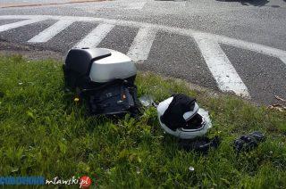 Kierowcy jednośladów: jeden pijany, drugi bez uprawnień