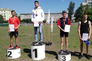 Patryk Bedra brązowym medalistą mistrzostw Mazowsza
