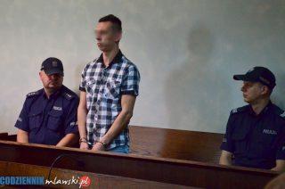 Właściciel amstaffa, który pogryzł dwójkę dzieci w Łomi skazany na prawie 3 lata więzienia