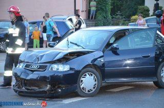 Wypadek na Warszawskiej. Aktualne wiadomości