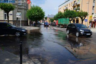 Potok płynie ulicami Reymonta i Żeromskiego