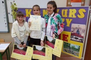Brawa dla zwycięzców Szkolnego Konkursu Wiedzy o Mławie