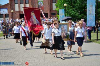 Procesja Bożego Ciała w parafii Matki Bożej Królowej Polski