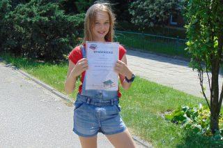 "Julia Zalewska finalistką konkursu ""Młody matematyk"""