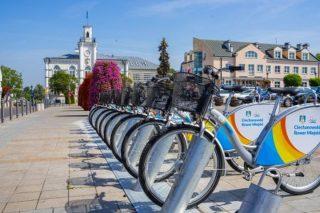 Rowery miejskie w Ciechanowie już na stałe