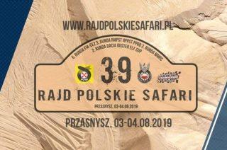 Już w sierpniu w Przasnyszu 39. Rajd Polskie Safari 2019!