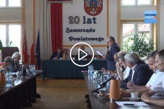 Transmisja z IX sesji Rady Powiatu Mławskiego