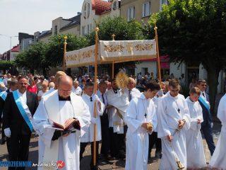 Procesja Bożego Ciała w parafii św. Stanisława BM