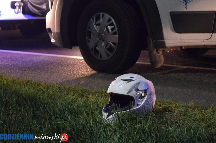 Śmiertelny wypadek na krajowej 7. Zginął motocyklista