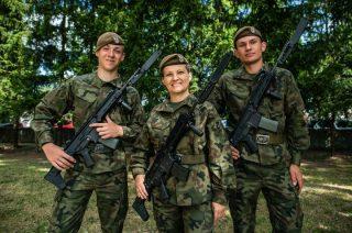 Nowi terytorialsi z Mławy. Jest nauczycielka z dwoma uczniami