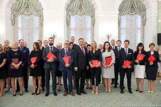 Prezydent RP powołał Wiolettę Orłowską na sędziego Sądu Rejonowego w Mławie