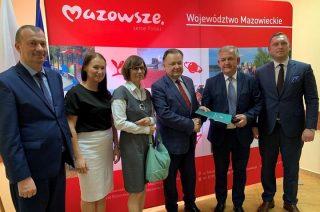 Ponad 1,1 mln zł z budżetu Mazowsza dla powiatu mławskiego i gmin