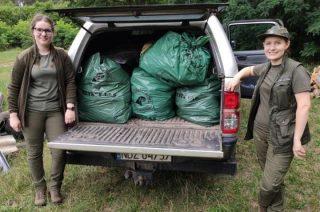 Zadziała służba leśna. Jeziorko w Krajewie bez śmieci