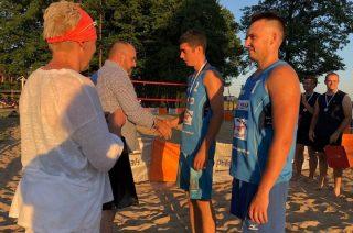 Lipowianie najlepsi na plaży w Rybnie
