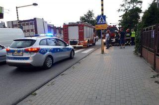 Strażacy neutralizowali wyciek paliwa z auta