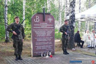 """Uroczystości w Niedziałkach. Pamiętali o """"Puszczyku"""" i jego żołnierzach"""