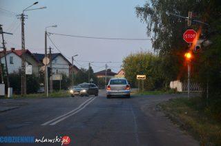 Ogromne garby na skrzyżowaniu Nowowiejskiej i DK 7. Trudno przejechać