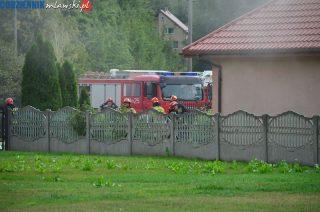 Pożar domu przy Dzierzgowskiej