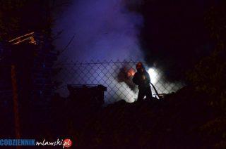 Nocny pożar na Kościuszki