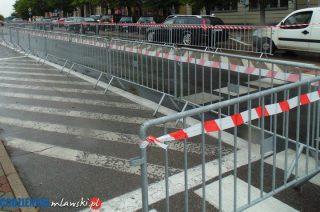 22 i 23 sierpnia. Ruch w centrum miasta wstrzymany