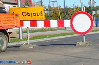 Zamknięta droga Bogurzynek – Mdzewo. Wprowadzono objazdy