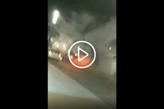 """Zobacz filmik z pożaru """"okrąglaka""""!!! Są ustalenia Policji"""