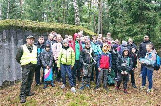 Ogólnopolska Akcja #sprzątaMY Lasy z SP 2!