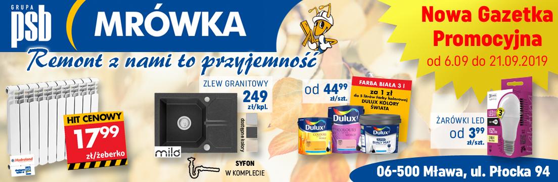 Mrówka Mława oferta gazetka promocje