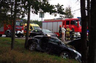 AKTUALIZACJA: Wypadek pod Konopkami. 15 miesięczna pasażerka w szpitalu