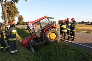 Traktorzysta i 4 promile