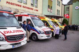 Nowoczesny ambulans trafił na drogi powiatu przasnyskiego