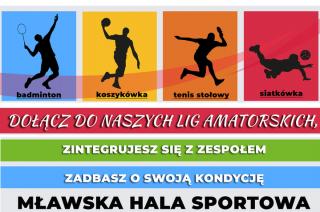 Mławska Hala Sportowa zaprasza