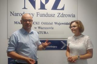 Mobilne stanowiska NFZ w powiatach. Kiedy w Mławie?
