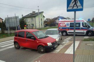 Zderzenie Fiata Panda z BMW