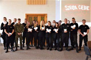 Kampania Białych Serc w Mławie