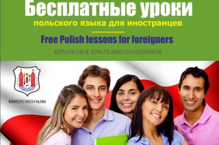 Bezpłatne lekcje języka polskiego dla cudzoziemców. Wolontariusze poszukiwani