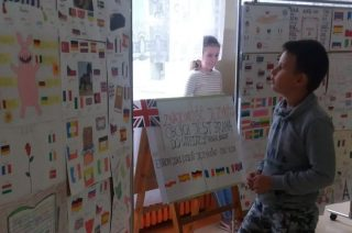 """Europejski Dzień Języków Obcych w """"siódemce"""""""