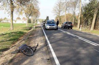 AKTUALIZACJA: Rowerzysta potrącony w Kluszewie