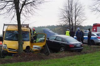 Kolejny wypadek w Krośnicach