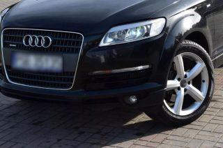 Mławscy kryminalni zabezpieczyli luksusowe Audi Q7