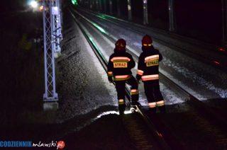 64. letni mężczyzna zginął pod kołami pociągu