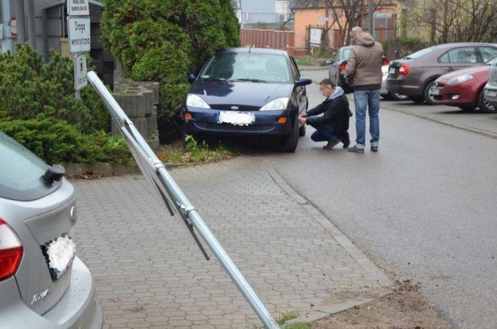 Napad na seniora i kradzież auta pod samą prokuraturą